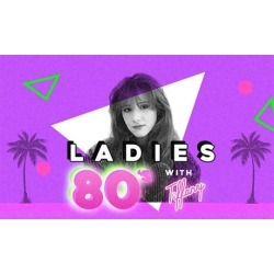 Ladies 80's with Tiffany on December 12 at 8 p.m.