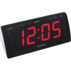 Sylvania Scr1206b Jumbo-digit Clock Radio