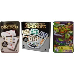 Dominos Game Set in Aluminum Case