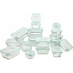 Glasslock Storage Containers 36pc Assorted set~Microwave & Oven Safe