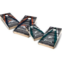 Wild Sports NFL 2'x4' Triangle Cornhole Tailgate Toss