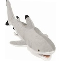 Sunny Toys NP8123 24 In. Shark - Black-Tip Reef, Animal Puppet