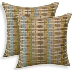 Essentials 19-63231MOC Othello Jacquard Geometric Toss Pillow