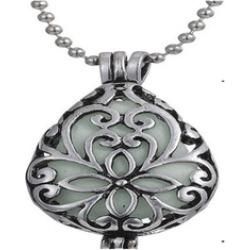 Magic Waterdrop Locket Glow Pendant Necklace