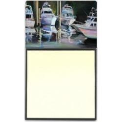 Carolines Treasures JMK1048SN Deep Sea Fishing Boats Sticky Note Holder
