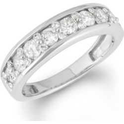 1CTTW Channel Set Half Eternity Ring in 14KWG found on Bargain Bro India from groupon for $879.99