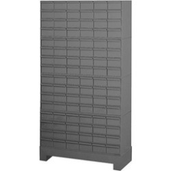 Durham 022-95 12.25 in. Steel 96 Drawer Cabinet for Small Part Storage Gray