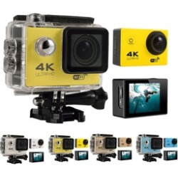4K Ultra HD 16MP 1080p 60fps Wifi 170° Wide Angle Sports Action Camera