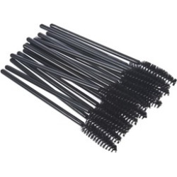 100Pcs Disposable Eyelash Brush Mascara Wand Makeup Lash Extension