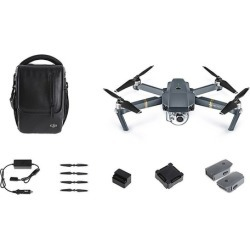 DJI Mavic Pro Quadcopter Drone with 4K Camera and 2 Extra Batteries