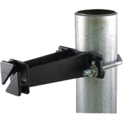 Field Guardian 102511 Pipe Clamp Insulator Black