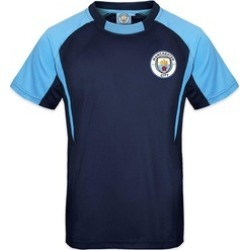 Manchester Football Club Official Gift Boys Poly Training Kit Jersey