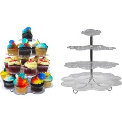 Four-Tier Cupcake Display Stands