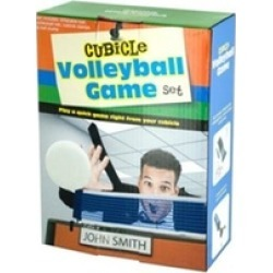Bulk Buys OL686 Cubicle Volleyball Game Set