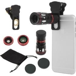 4-in-1 Universal Clamp Clip Camera Lens Kit Set