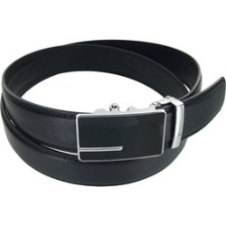 Leather Business Casual Simple Buckle Belt title=