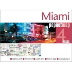 Universal Map 10832 Miami-Miami Beach Popout Map
