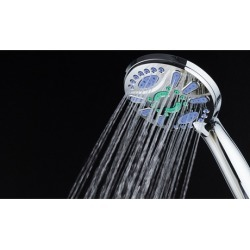 Microban 6-Setting Antimicrobial Handheld Shower Head