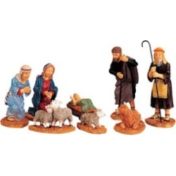 "Lemax 92351 Nativity Figurines Porcelain Village Accessory, 9"""