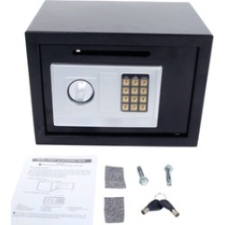 Digital Lock Keypad Cash Jewelry Safe Home Office Security found on Bargain Bro India from groupon for $51.99
