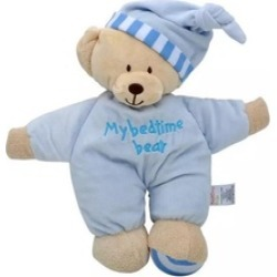 Soothing Teddy Bear Stuffed Soft Baby Animal, Sleep Time Toys(2-pack)