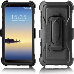 For LG Stylo 4 Case Shockproof Holster Hard Armor With Clip Cover found on Bargain Bro India from groupon for $9.49