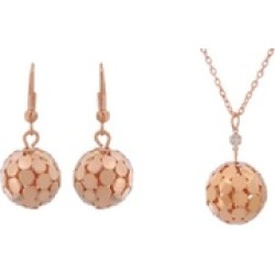 Gold Color Bead Jewelry Sets For Women