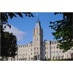 Quebec Parliament Buildings; Quebec City Quebec Canada Poster Print by David C