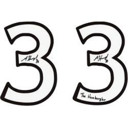 Ottawa Senators NHL Authentic Autographed Jersey Numbers