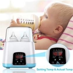 5 in 1 Baby Bottle Warmer Electric Steam Sterilizer Dryer Machine LED Monitor