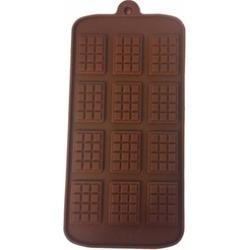 Chocolate Bar Mini Waffle Silicone mold Candy Chocolate Fondant Tray