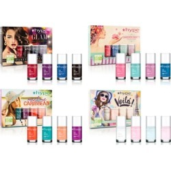 Hype Nails High Gloss Pigmented Nail Polish Sets found on MODAPINS from groupon for USD $16.99
