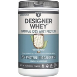 Designer Whey 42220 Natural 100% Whey Protein, Purely Unflavored