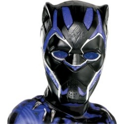Boys Halloween Black Panther Muscle Costume Black Panther Movie