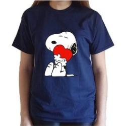 Star-Tshirt Snoopy Love Unisex Tshirt