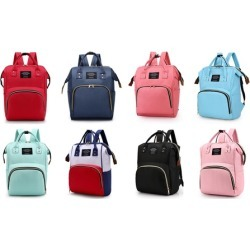 Diaper Bag Backpack Large Multifunction Waterproof Baby Nappy Changing Bag