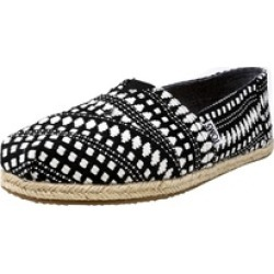 Toms Women's Classic Diamond Tribal Rope Sole Shoes