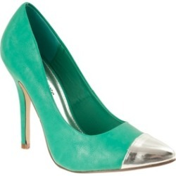 Riverberry Women's 'Ricola' Pointed Toe Stiletto Pumps, Green