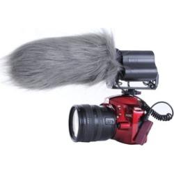"Movo WS3 Furry Outdoor Shotgun Microphone Windscreen (Fits 7"" X 55mm)"