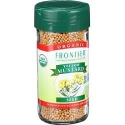 Organic Yellow Mustard Seed Whole ( 4 - 3.05 oz bottles )