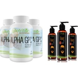 Lyfetrition Alpha GPC Premium Nootropic & /or Beard Oil