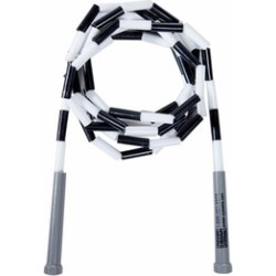 Power Systems 35219 9 ft. Beaded Jump Rope - Black-White
