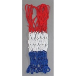 Olympia Sports NT009P 4mm Economy Basketball Net - Red-White-Blue