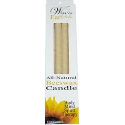 Candles Beeswax   4 Candles