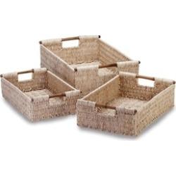 Lightweight Bamboo Woven Corn Nesting Baskets
