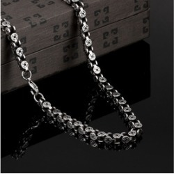 Solid Stainless Steel Large Bicycle Men's Chain found on MODAPINS from groupon for USD $21.99