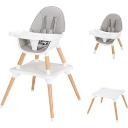 5-in-1 Baby High Chair for Eating Infant Booster Seat Kid Table & Chair