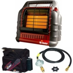 Mr. Heater Portable Heater w/ Bag & 12