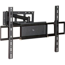 Corner Friendly, Full-Motion TV Wall Mount Bracket (Max 110 lbs)