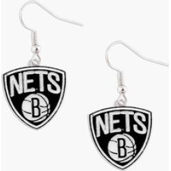 Sports Team Logo NBA Dangle Logo Charm Earring Set